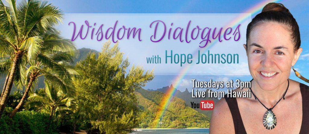 Hope Johnson Wisdom Dialogues on YouTube